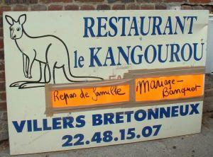 Kangaroo Restaurant